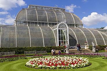 Palm House, Royal Botanic Gardens, Kew, UNESCO World Heritage Site, London, England, United Kingdom, Europe