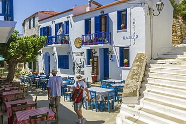 In the Kastro, Hora, Alonnisos, Sporades, Greek Islands, Greece, Europe