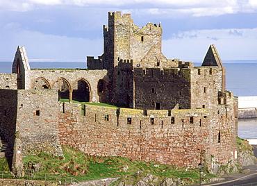 Peel Castle, Isle of Man, Europe