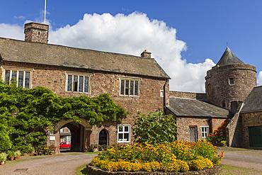 Castle, Tiverton, Devon, England, United Kingdom, Europe