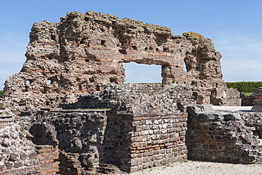 Old Roman city, Wroxeter, Shropshire, England, United Kingdom, Europe