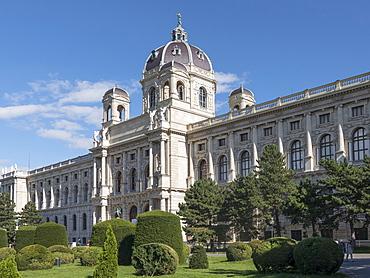 History of Art Museum, Theresien Platz, Vienna, Austria, Europe