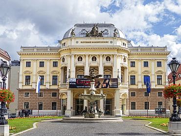 Opera House, Bratislava, Slovakia, Europe