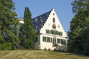 Rosenau Palace, birthplace of Prince Albert, consort of Queen Victoria, Coburg, Bavaria, Germany, Europe