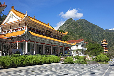 Xiangde Temple, Tianxiang, Taroko Gorge, Taiwan, Asia