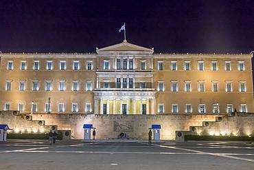 Parliament, Syntagma Square, Athens, Greece, Europe