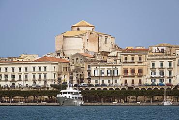 Waterfront, Syracuse, Sicily, Italy, Mediterranean, Europe
