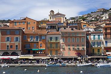Waterfront Villefranche, Alpes Maritime, Cote d'Azur, Mediterranean, Europe