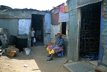 Houses, Soweto, South Africa, Africa