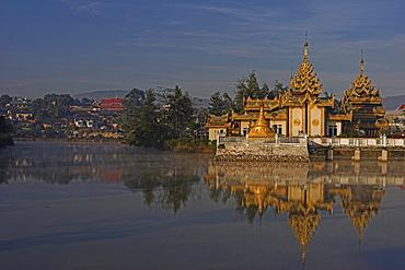 Wat Naung Kham, Kengtung (Kyaing Tong), Shan State, Myanmar (Burma), Asia