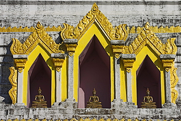 Wat Jong Kham thought to date from the 13th century, Kengtung (Kyaing Tong), Shan State, Myanmar (Burma), Asia