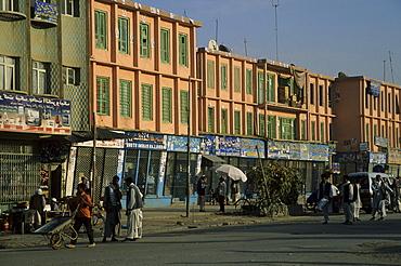 Street scene, Mazar-I-Sharif, Afghanistan, Asia