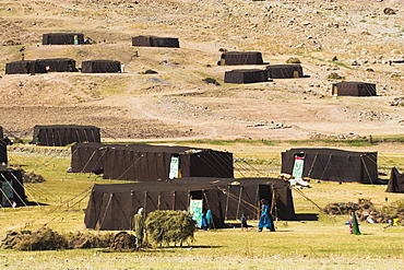 Aimaq nomad camp, Pal-Kotal-i-Guk, between Chakhcharan and Jam, Afghanistan, Asia