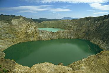 Crater Lakes at Keli Mutu, Moni, Flores, Indonesia, Southeast Asia, Asia
