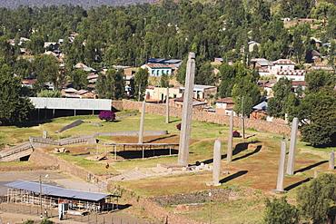 Northern Stelae Park, UNESCO World Heritage Site, Aksum, Ethiopia, Africa