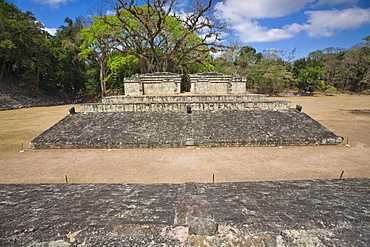 Ball Court dating from AD 731, Central Plaza, Copan Ruins, UNESCO World Heritage Site, Honduras, Central America