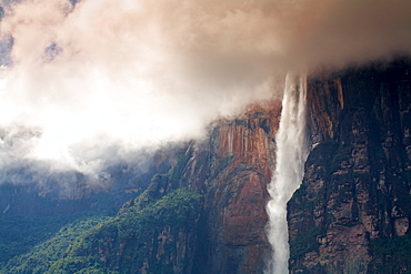 Angel Falls, Canaima National Park, UNESCO World Heritage Site, Guayana Highlands, Venezuela, South America