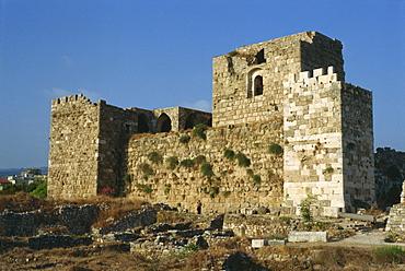 Crusader Fortress, Byblos, Lebanon, Middle East