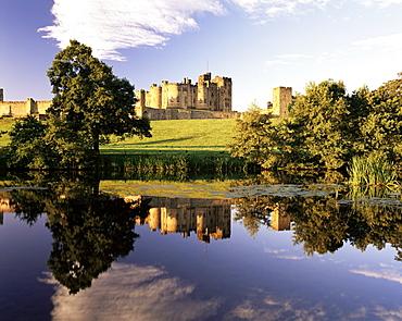 Alnwick Cstle, Alnwick, Northumberland, England, United Kingdom, Europe