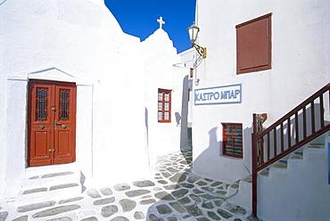 Mykonos Town, Mykonos, Cyclades Islands, Greece, Europe