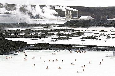 The Blue Lagoon, Reykjanes Peninsula, Iceand, Polar Regions