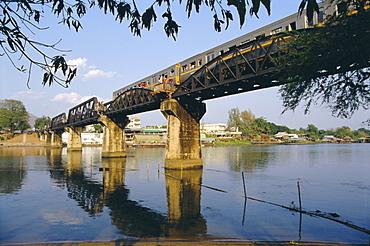 Kwai River Bridge, Kanchanaburi, Thailand