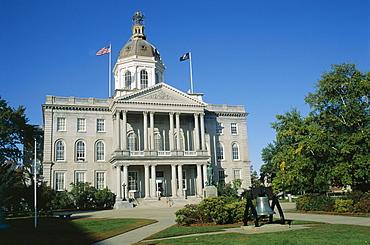 New Hampshire State Capitol, Concord, New Hampshire, New England, United States of America (U.S.A.), North America