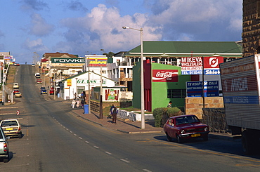 View along main street, Mossel Bay, Cape Province, South Africa, Africa - 365-2932