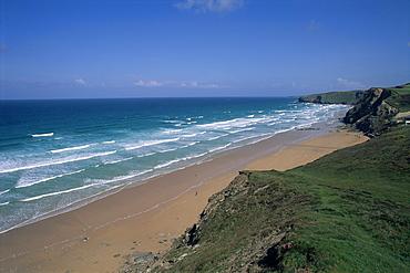 Watergate Bay, near Newquay, Cornwall, England, United Kingdom, Europe