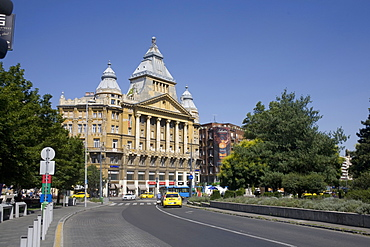 Deak Ferenc Square with the former Anker Palace, Budapest, Hungary, Europe - 365-3850