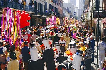 Mardi Gras, New Orleans, Louisiana, USA