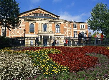 Wagner Spielhaus, Bayreuth, Bavaria, Germany, Europe