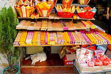 Street stall, Guangzhou (Canton), Guangdong, China, Asia