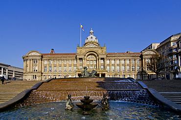 Council House and Victoria Square, Birmingham, Midlands, England, United Kingdom, Europe