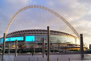 Wembley Stadium Arch, London, England, United Kingdom, Europe