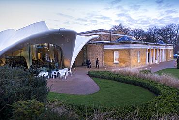 Serpentine Sackler Gallery and Magazine Restaurant, Kensington Gardens, Hyde Park, London, England, United Kingdom, Europe
