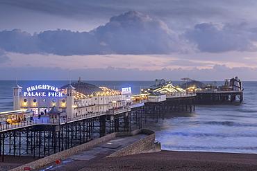 Brighton Pier, Sussex, England, United Kingdom, Europe