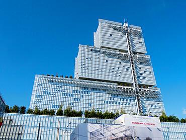 Building of Tribunal de Paris, Porte de Clichy, Paris, France, Europe