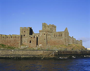 Peel Castle, Isle of Man, UK