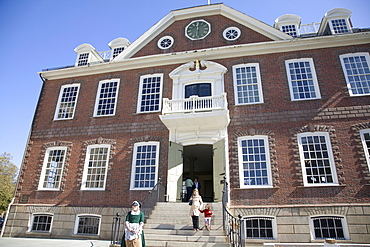 The Old Colony House, Newport's Historic District, Newport, Rhode Island, New England, United States of America, North America