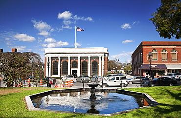 Washington Square, Newport's Historic District, Newport, Rhode Island, New England, United States of America, North America