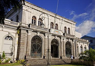 Former Courthouse building, Fort-de-France, Martinique, Lesser Antilles, West Indies, Caribbean, Central America