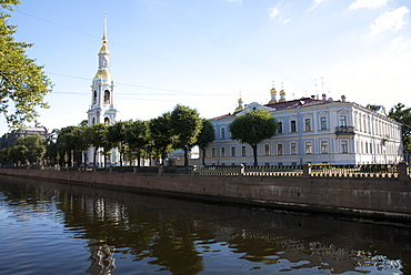 Smolny Cathedral, St. Petersburg, Russia, Europe