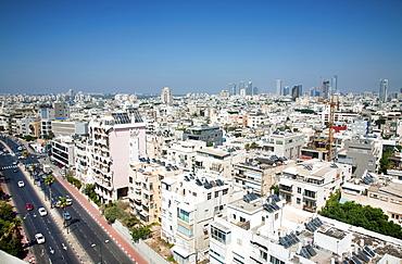 Hayarkon Street, Tel Aviv City Centre, Tel Aviv, Israel, Middle East