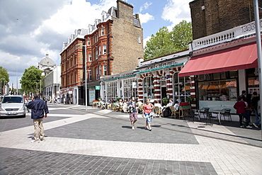 Restaurants around South Kensington Station, Kensington, London, England, United Kingdom, Europe