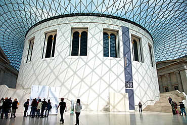 The Interior Rotunda, British Museum, London, England, United Kingdom, Europe