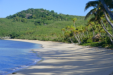 Tropical beach, Waya Island, Yasawa Group, Fiji, South Pacific islands, Pacific