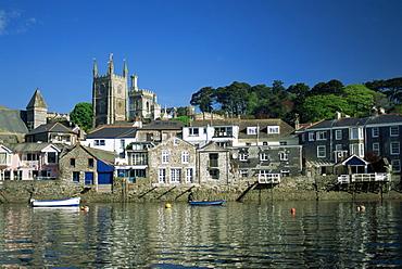 Waterfront, Fowey, Cornwall, England, United Kingdom, Europe