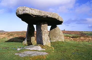 Lanyon Quoit, near Madron, Cornwall, England, United Kingdom, Europe