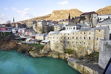 Mostar, UNESCO World Heritage Site, Bosnia, Bosnia Herzegovina, Europe